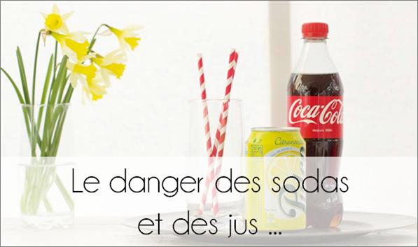 Le danger des sodas.
