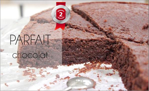 Parfait chocolat (sans sucre, ni beurre)
