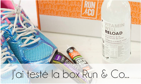 J'ai testé la box Run & Co ...