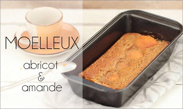 Moelleux abricot & amande (sans beurre).