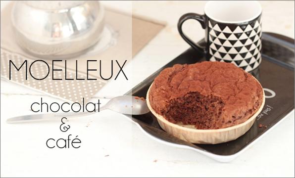 Moelleux chocolat café (sans gluten).