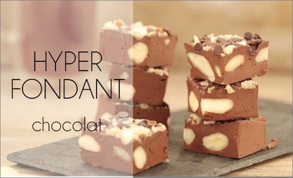 L'hyper fondant (vegan, sans cuisson, sans sucre ni matière grasse ajoutés).