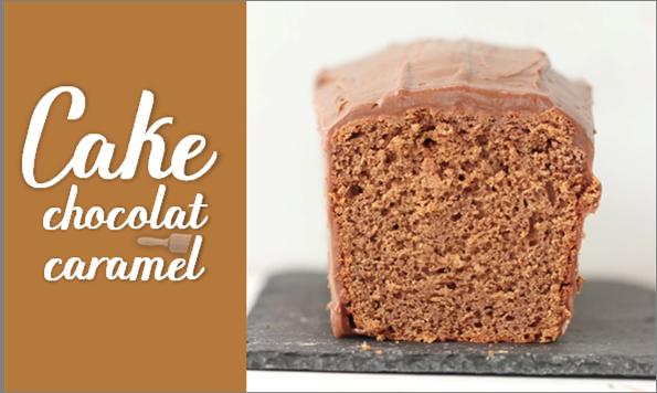 Cake chocolat & caramel.