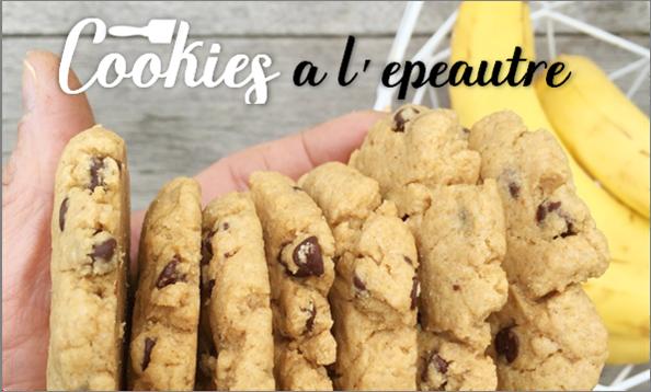 Cookies à l'épeautre