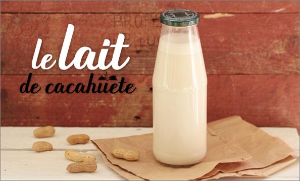 Comment faire du lait de cacahuète.