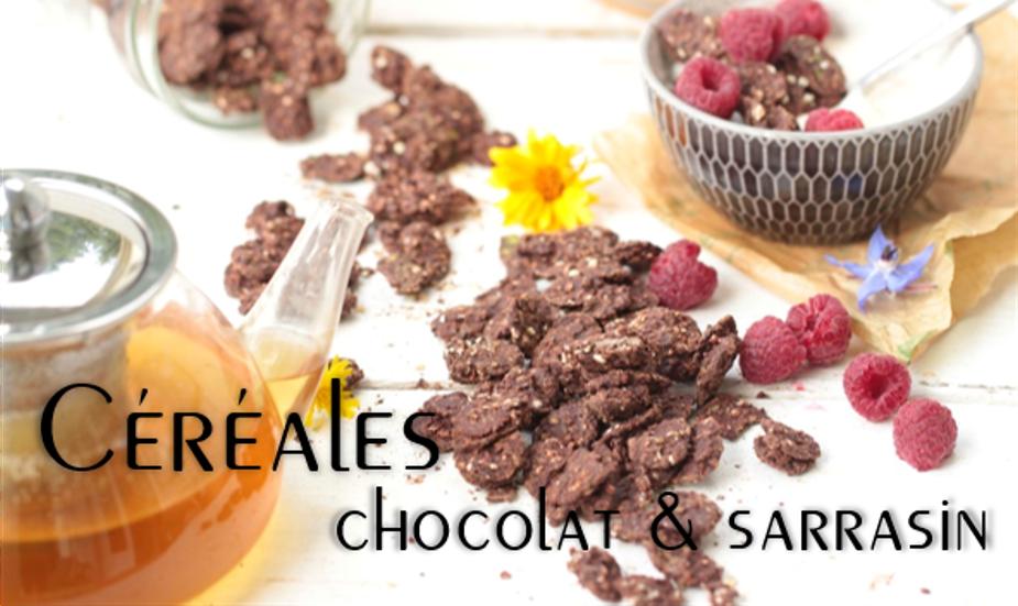 Céréales chocolat & sarrasin.