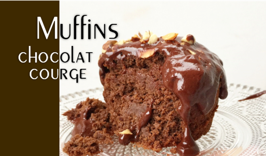 Muffin chocolat & courge.