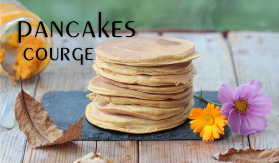 Pancakes à la courge